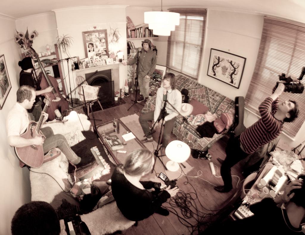 By Andy Lederer:  Tuckshop Community Radio Living Room Session